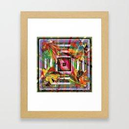 Wrapped present Framed Art Print