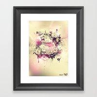 Stoned Framed Art Print