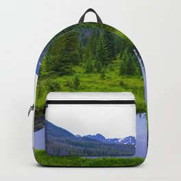 Colorado Forest Pond by Reay of Light Backpack