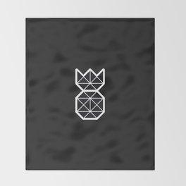Minimalist Pineapple Throw Blanket
