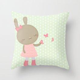 douceur printanière  Throw Pillow