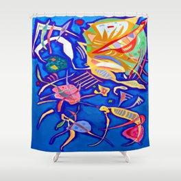 Kandinsky Grouping Shower Curtain