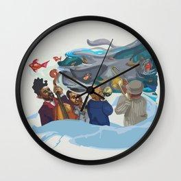 Jazz band Wall Clock