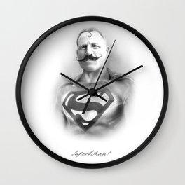 SuperbMan! Wall Clock