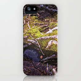 Roots of Love iPhone Case