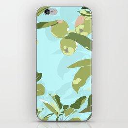 apple tree zoom in iPhone Skin