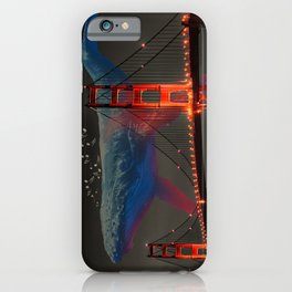 Giant Whale Music iPhone Case