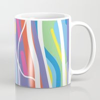 san diego Mugs featuring San Diego by charker