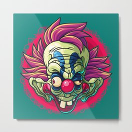 Killer Clown Metal Print