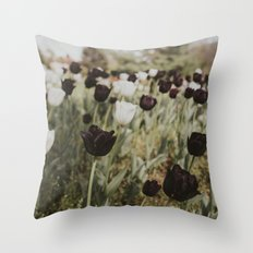 Tulips in Germany Throw Pillow