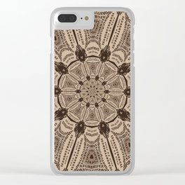 Ouija Wheel - Beyond the Veil Clear iPhone Case