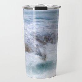 water over rocks Travel Mug