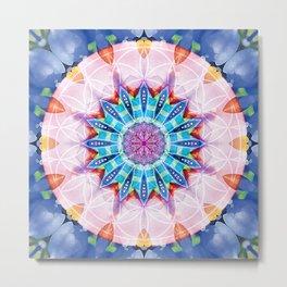 Flower of Life Mandalas 12 Metal Print
