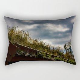 My Garden My Roof Rectangular Pillow