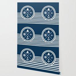Sailing symbols Wallpaper