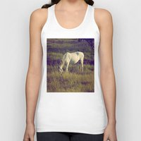 horses Tank Tops featuring Horses by Pedro Antunes