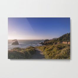 Elk Head Trail Metal Print