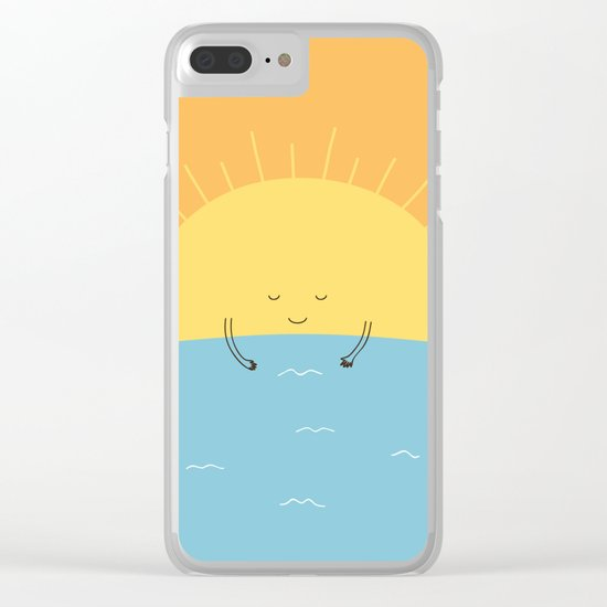 good morning sunshine! Clear iPhone Case