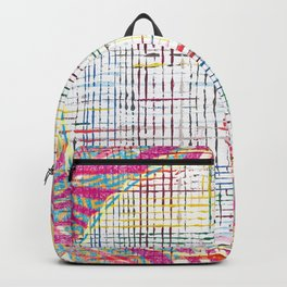 The System - pink motif Backpack