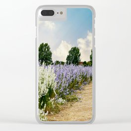 Coloured Landscape Clear iPhone Case