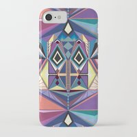 totem iPhone & iPod Cases featuring Totem by Naia Ceschin