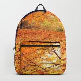 New York City Autumn Leaves Backpack