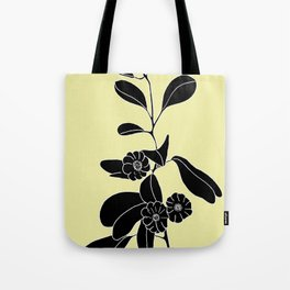 Goat's Foot (also known as Mauve Convolvulus, Beach Potato Vine, and Morning Glory) - Ipomoea pes-ca Tote Bag