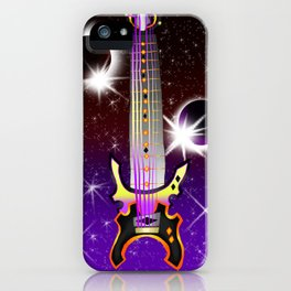 Fusion Keyblade Guitar #130 - Lunar Eclipse & Total Eclipse iPhone Case