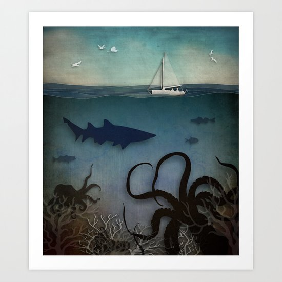 Under the Sea Art Print