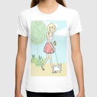 icecream T-shirts featuring Icecream by Marisa Marín