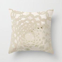 Twists Throw Pillow