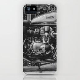 Bike Shed iPhone Case