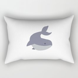 Whale. Poster for children. Animals. Poster with animals Rectangular Pillow