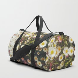 Wall of Daisies Duffle Bag