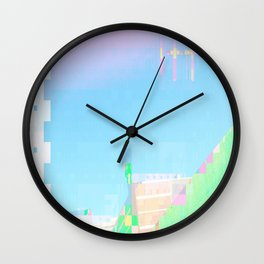 doublecrossing Wall Clock