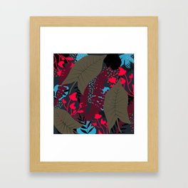 Welcome to the Jungle 4 Framed Art Print