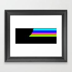 A Little Light In the Feet Framed Art Print