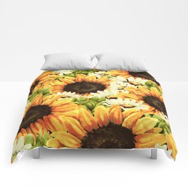 Summer Garden (Sunflower Sunshine) Comforters