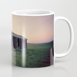 Abandoned Homestead at Sunset Coffee Mug
