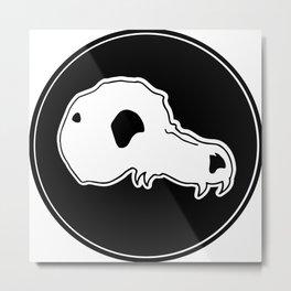 Beastie skull Metal Print