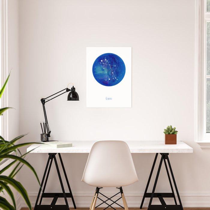 Constellation Gemini Poster