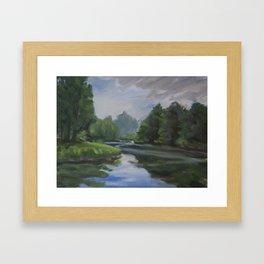Bothell Landing II Framed Art Print