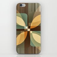 clover iPhone & iPod Skins featuring clover by Julia Tomova