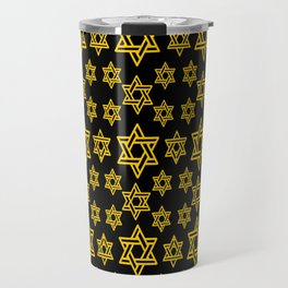 Star of David Pattern Travel Mug