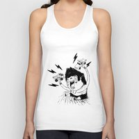 truck Tank Tops featuring Truck Fighter! by ChrisNygaard