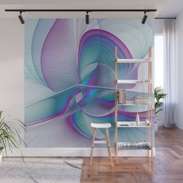 Colorful Beauty, Abstract Fractal Art Wall Mural