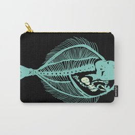 Fish are Friends (Black) Carry-All Pouch