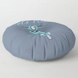 Let's Ride Floor Pillow