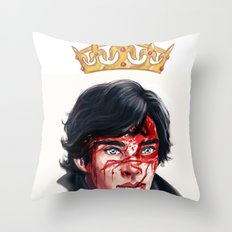 The Fake Genius Throw Pillow