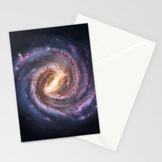 Galaxy Spin Stationery Cards